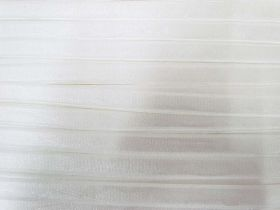 12mm Lingerie Strap Elastic- Shiny Ivory