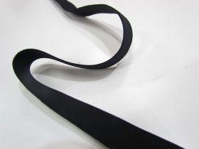 25mm High Density Elastic- Black
