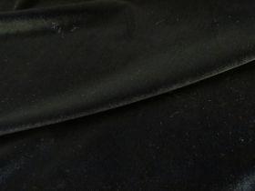 2way Stretch Velvet- Black