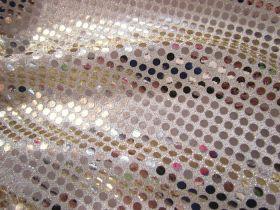 6mm American Sequins- Light Gold