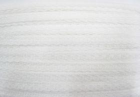 15mm Dainty Blossom Lace Trim- White #206