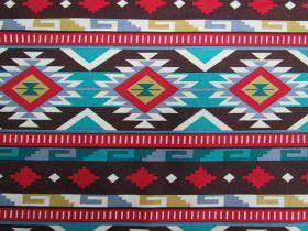 Southwest Stripes Cotton #PW1038