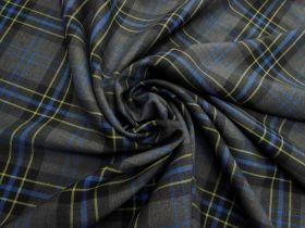New York Wool Blend Check #4605