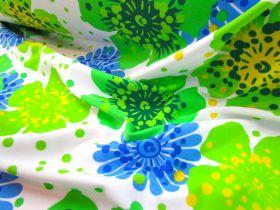 Havaiana Floral Lycra- Blue/Green