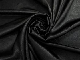 Crinkle Satin- Black #4732