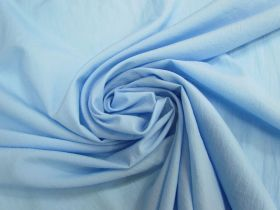 Lightweight Crinkle Taslon- Sky Blue #4736