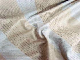 Bobbi Stripe Wool Flannel- Acorn