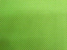Fresh Tiny Spots Cotton- Garden Green #PW1017