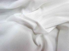 Australian Made Combed Cotton Pique- White #844