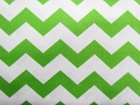 Chevron Cotton- Lime #2791