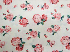 Liberty Cotton- Regent Rose- 5905A- The Emporium Collection