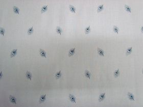 Liberty Cotton- Java Feather- Grey 5912C- The Emporium Collections