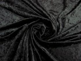 Panne Velvet- Mysterious Black #4785
