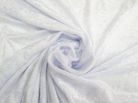 Panne Velvet- Moonlight White #4786
