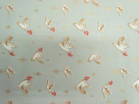 Ruby Star Society Cotton- Candlelight- Doves 35-11M