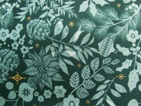 Ruby Star Society Cotton- Candlelight- Winter Garden- Pine 34-15M