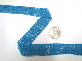 Billy's Blue Cotton Lace