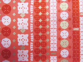 Ruby Star Society Cotton- Candlelight- Paper Cuts- Poinsettia 33-12M