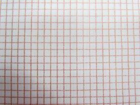 Ruby Star Society Cotton- Grid- Copper 31M