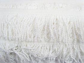 65mm Cotton Twisted Fringe- Marshmallow #475
