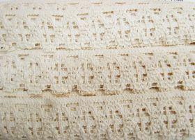 50mm Cotton Lace Trim- Sandstone #483