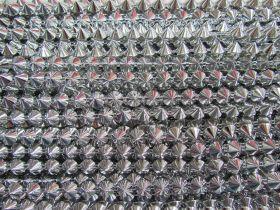 Metallic Stud Trim- Silver #485