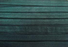 20mm Shiny Fold Over Elastic- Dark Teal #488
