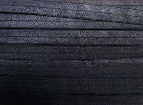 20mm Shiny Fold Over Elastic- Navy #490