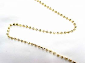 3mm Diamante Trim- Gold
