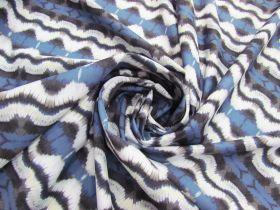 Heavyweight Kaleidoscope Stripe Spandex #4823
