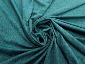 Micro Eyelet Active Knit- Marle Teal #4834