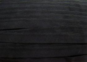 Budget Elastic- 20mm Braided Elastic- Black #225