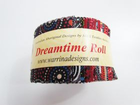 Dreamtime Jelly Roll- Red Colour Theme