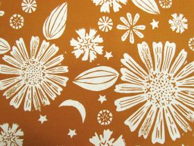 Ruby Star Society Cotton- Golden Hour- Zinnia- Saddle #14