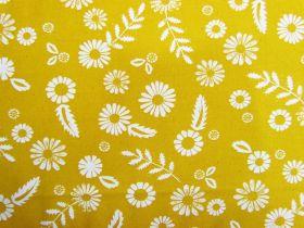 Ruby Star Society Cotton- Golden Hour- Daisy- Goldenrod #22