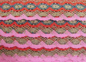 55mm Festival of Lights Cotton Lace Trim #227