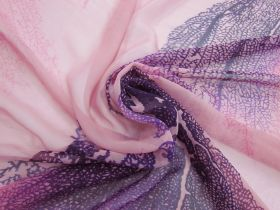 Natural Elegance Silk Georgette- Pink #4881