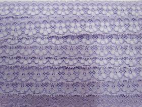 25mm Stella Stretch Lace Trim- Purple #243