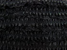 50mm Lace Garter Elastic Trim- Black #255