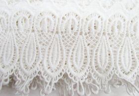 11cm Fleur Cotton Lace Edge Trim #280
