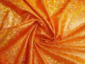Shattered Glass Spandex- Orange