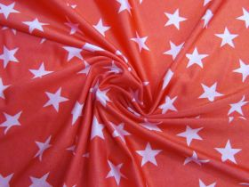 Star Power Shiny Spandex- Red/Pink #2938