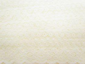 70mm Sophia Floral Lace Trim- Cream #293