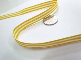 Candy Cane 10mm- Yellow / White
