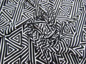 Monochrome Maze Spandex #2963