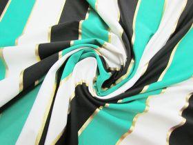 Lucky Foil Stripe Spandex #2964