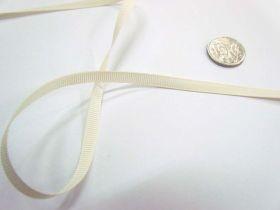 Grosgrain Ribbon 6mm- Antique White