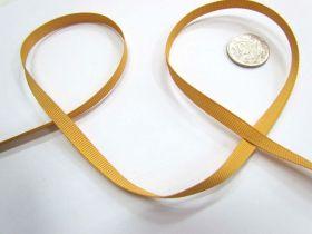 Grosgrain Ribbon 6mm- Gold