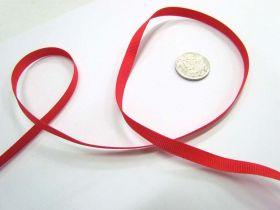 Grosgrain Ribbon 6mm- Red