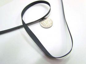 Grosgrain Ribbon 6mm- Charcoal